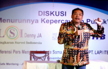 LSI Paparkan Menurunnya Kepercayaan terhadap Institusi Negara dan Lembaga Sosial - JPNN.com