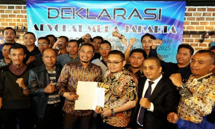 Dukungan Advokat Muda Jakarta Kepada Otto