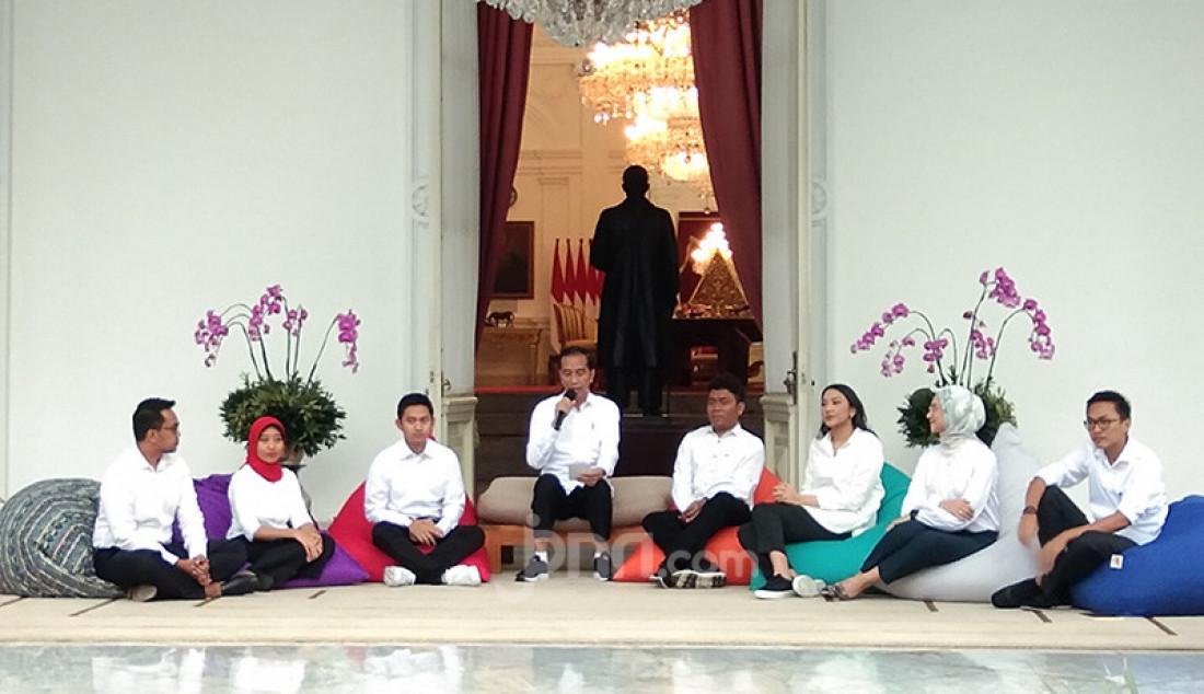 7 Stafsus Presiden Jokowi dari Kalangan Muda Mudi - JPNN.com