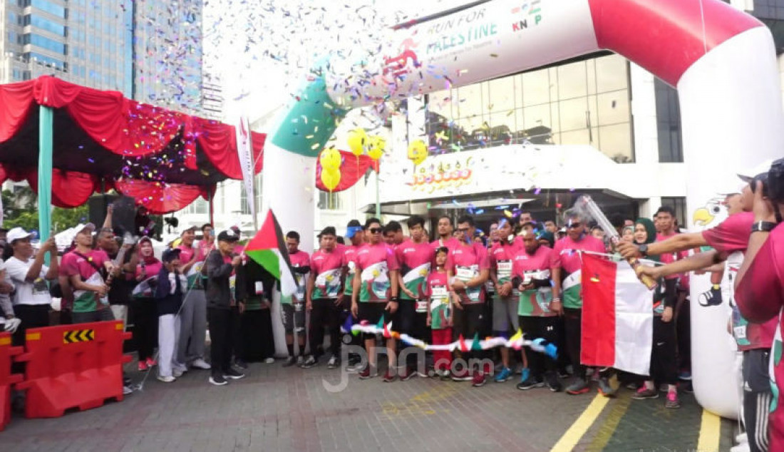 Run for Palestine - JPNN.com