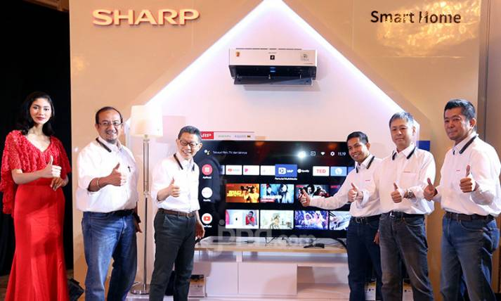 SHARP Rilis Android TV dengan Google Assistant - JPNN.com