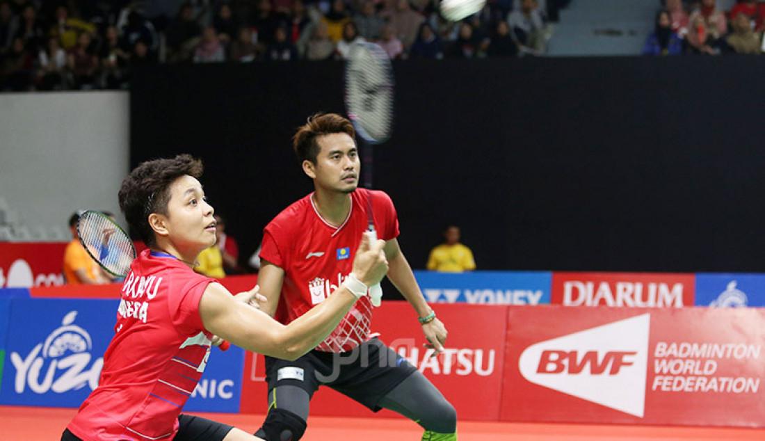 Tontowi/Apriyani Tumbang di 16 Besar Indonesia Masters 2020 - JPNN.com