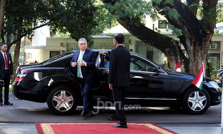 Presiden Jokowi Sambut PM Republik Hungaria Viktor Orban - JPNN.com