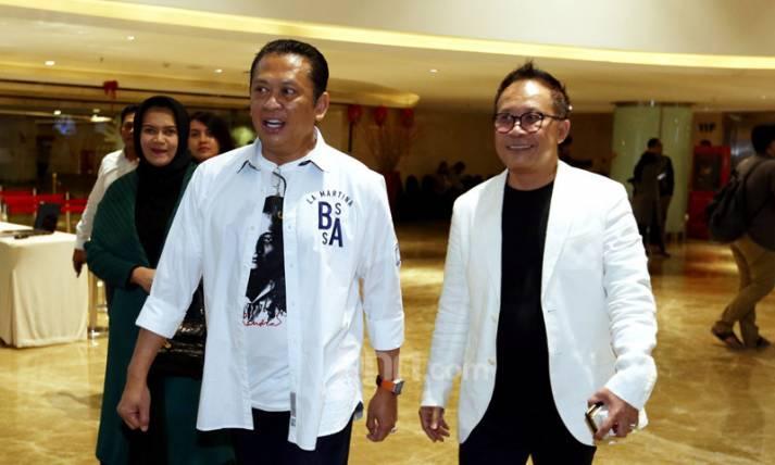 Bambang Soesatyo dan Auri Jaya - JPNN.com