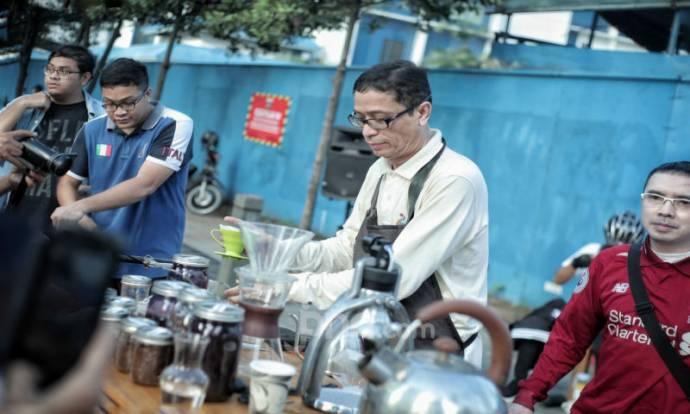 Ngopi Bareng Cawagub DKI Jakarta Bang Ancah