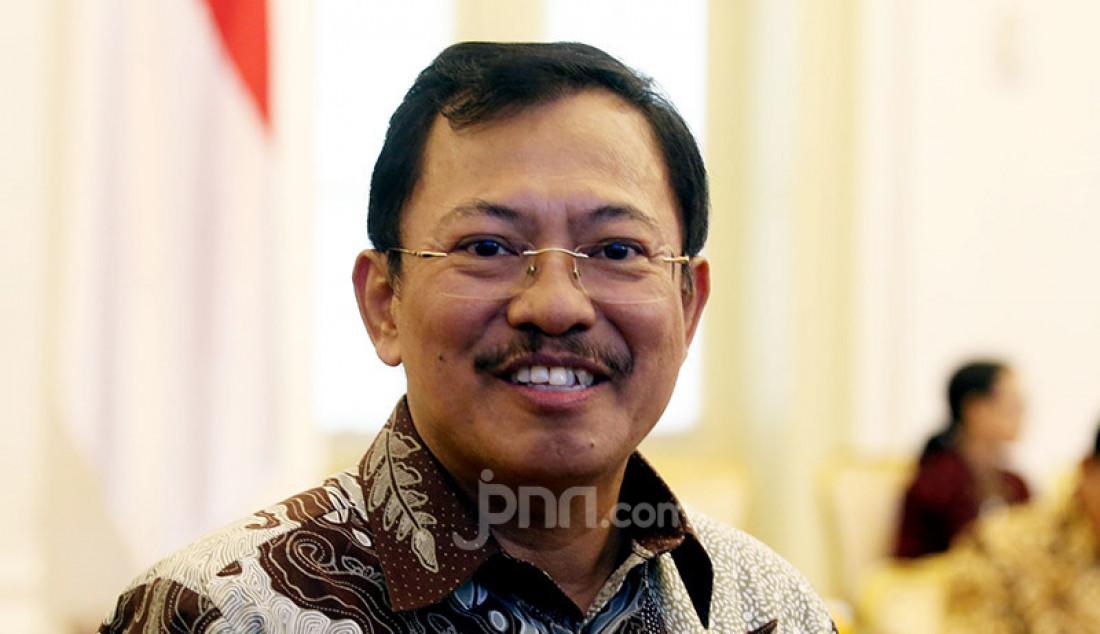 Dia Tersenyum saat Disebut jadi Menteri Kesayangannya Jokowi