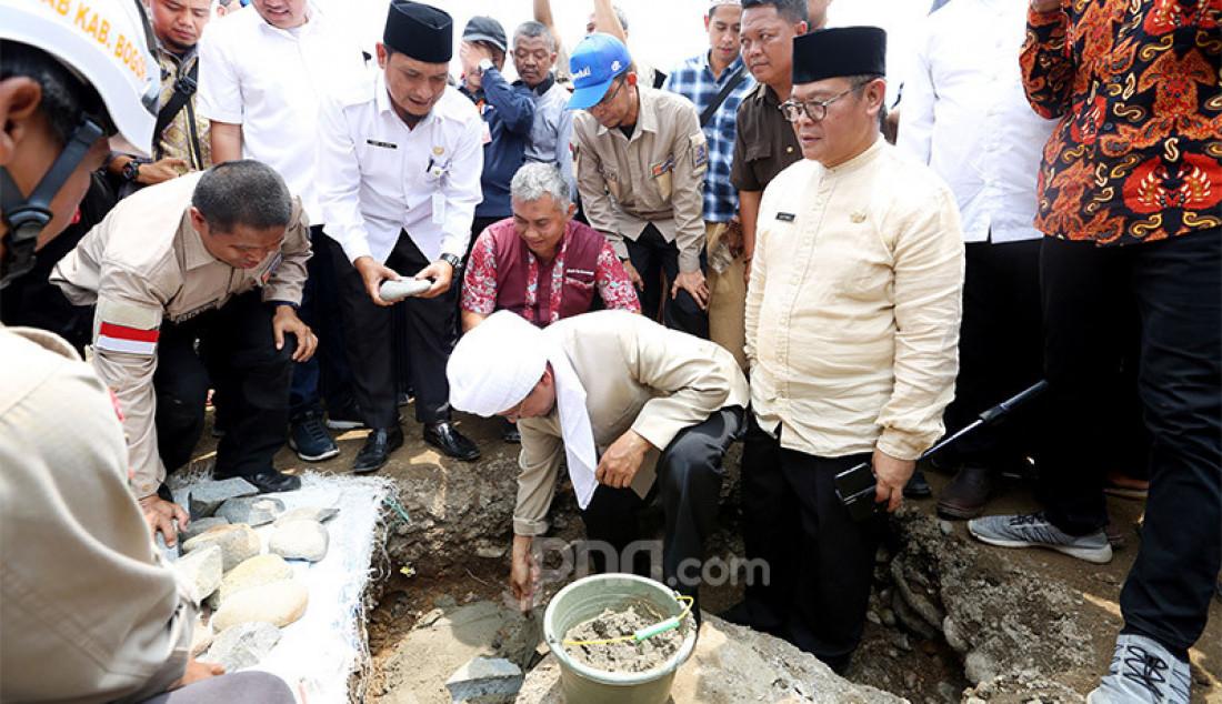 Aa Gym Hadiri Peletakan Pondasi Jembatan Ciasahan - JPNN.com