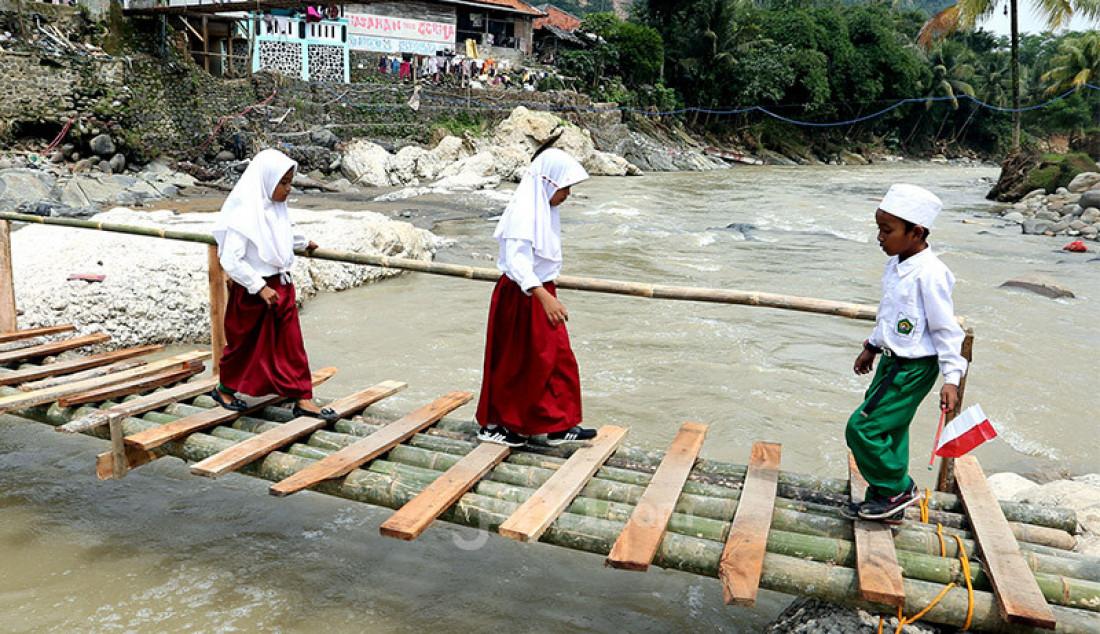 Jembatan Penghubung 4 Kampung Belum Dibangun - JPNN.com