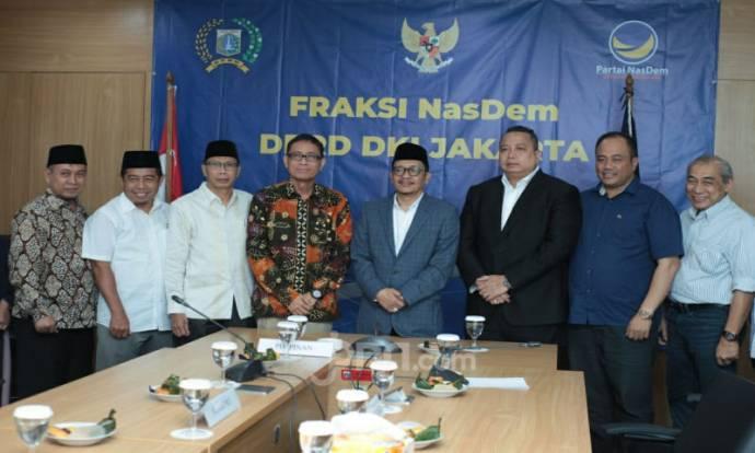 Nurmansjah Lubis Datangi Fraksi-fraksi DPRD DKI Jakarta