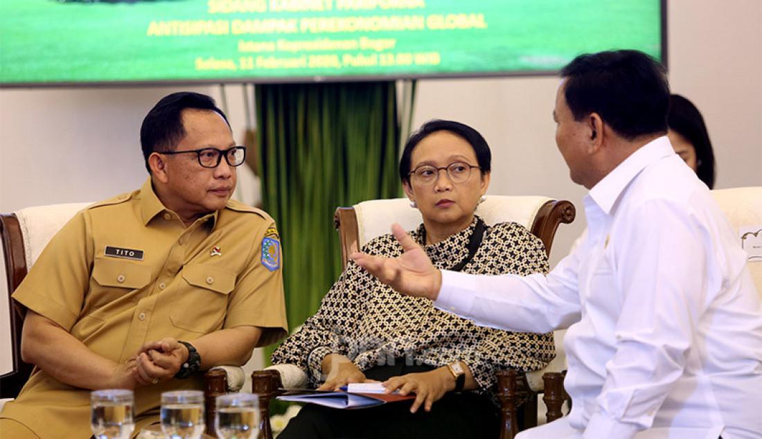 Mendagri Hadiri Sidang Kabinet Paripurna - JPNN.com