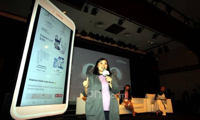 Peluncuran Aplikasi Orami Parenting