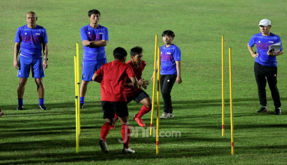 Latihan Perdana Timnas Indonesia - JPNN.com