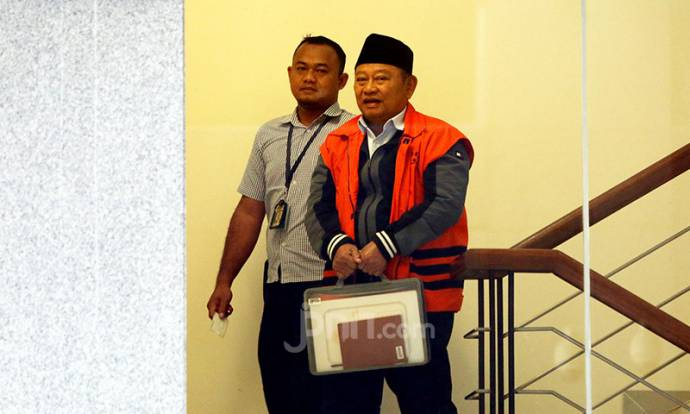 KPK Kembali Garap Bupati nonaktif Sidoarjo Saiful Ilah