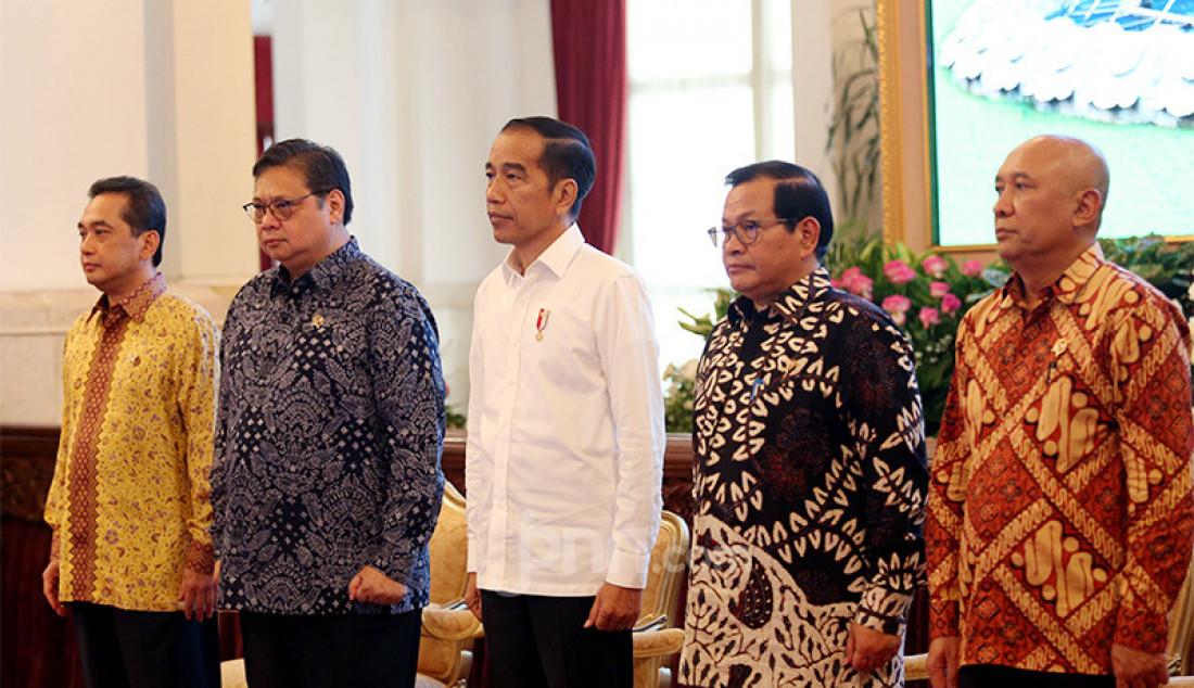 Presiden Joko Widodo saat menghadiri pembukaan rapat kerja Kementerian Perdagangan Tahun 2020 di Istana Negara, Jakarta, Rabu (4/3). Foto: Ricardo - JPNN.com