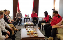 Hasto Kristiyanto Sambut Kunjungan Partai Buruh Australia - JPNN.com