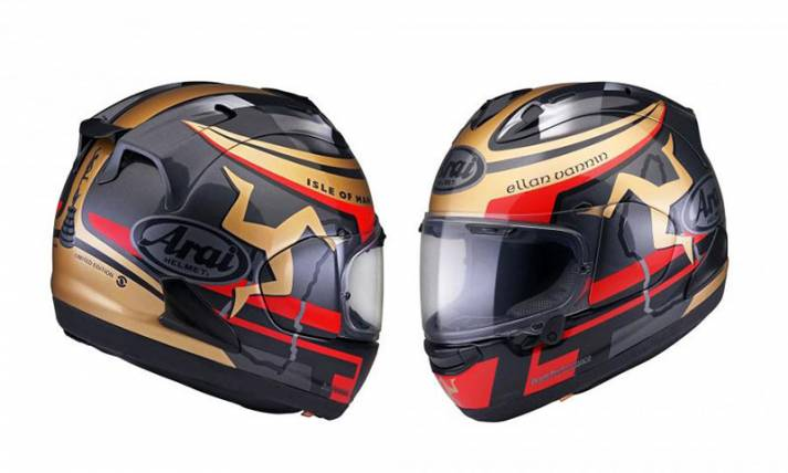 Arai Luncurkan Isle of Man TT Limited Edition 2020 - JPNN.com