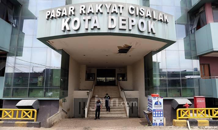 Empat Pedagang Positif, Pasar Cisalak Depok Ditutup - JPNN.com