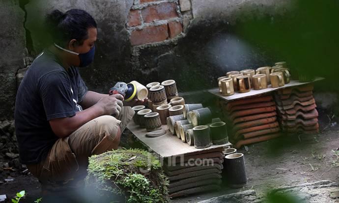 Kerajinan Bambu Rambah Pasar Mancanegara