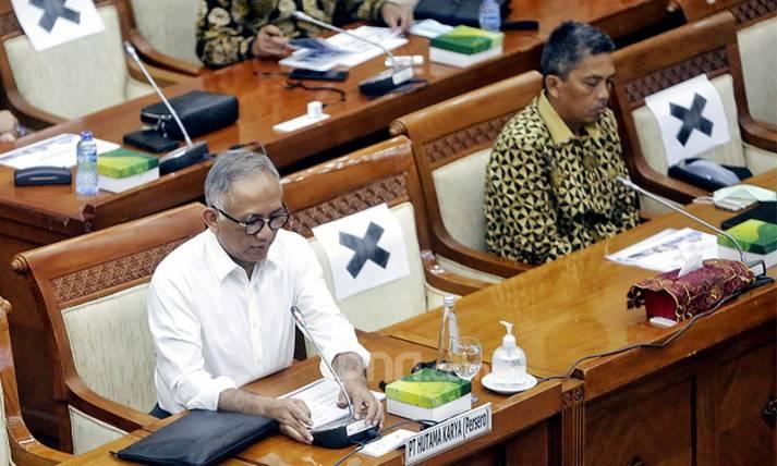 Hutama Karya Bahas Utang Pemerintah Ke Komisi VI DPR - JPNN.com