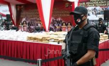 Polda Metro Jaya Musnahkan 1,2 Ton Narkoba - JPNN.com