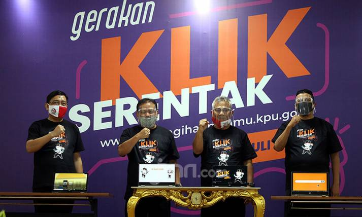 KPU Luncurkan Gerakan Klik Serentak (GKS) - JPNN.com