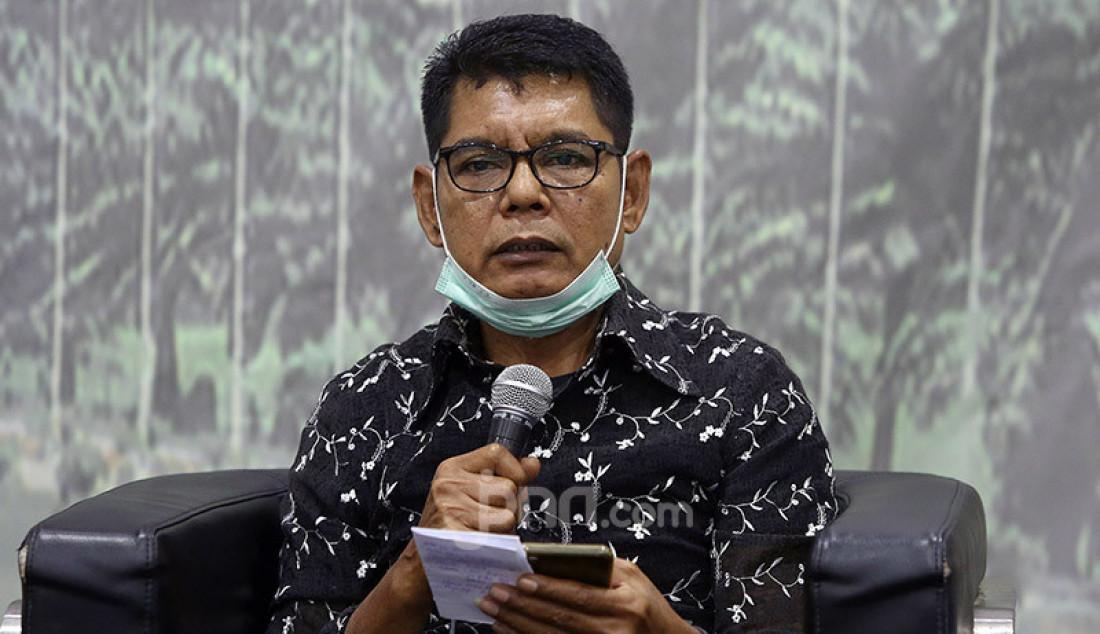 Pengamat Komunikasi Politik Syaifuddin saat menjadi pembicara pada diskusi Sidang Tahunan MPR RI: Konvensi Ketatanegaraan Dalam Rangka Laporan Kinerja Lembaga Negara, Jakarta, Jumat (17/7). Foto: Ricardo - JPNN.com