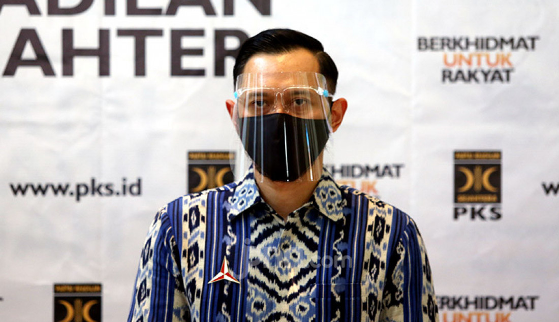 Ketum Partai Demokrat Agus Harimurti Yudhoyono di Kantor DPP PKS, Jakarta, Jumat (24/7). AHY menemui Presiden PKS Sohibul Iman untuk membahas isu-isu kebangsaan hingga Pilkada 2020. Foto: Ricardo - JPNN.com