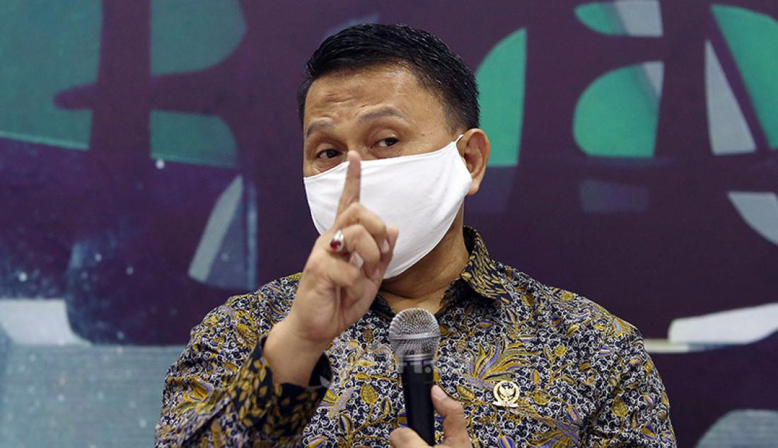 Anggota komisi II Fraksi PKS, Mardani Ali Sera saat menjadi pembicara pada diskusi Kekhawatiran Menguatnya Dinasti Politik, Jakarta, Selasa (28/7). Foto: Ricardo - JPNN.com