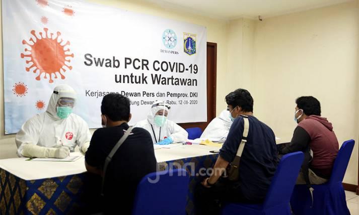 Dewan Pers Bersama Pemprov DKI Jakarta Gelar Swab Test - JPNN.com