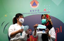 Aice Group dan GP Ansor Serahkan Bantuan Masker kepada BNPB - JPNN.com