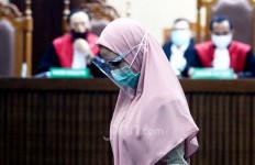 Mengenakan Gamis dan High Heels di Sidang Perdana, Jaksa Pinangki: Ahamdulillah... - JPNN.com