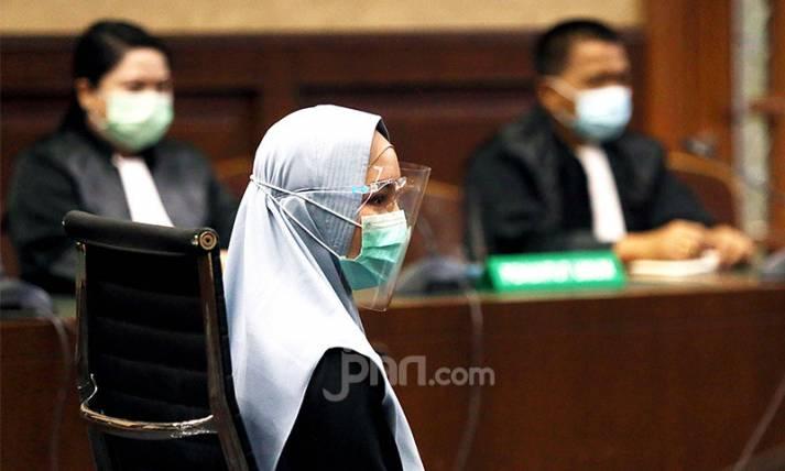 Pinangki Sirna Malasari Jalani Sidang Pembacaan Eksepsi - JPNN.com
