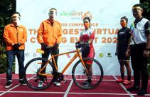 Bersepeda Sambil Berdonasi - JPNN.com