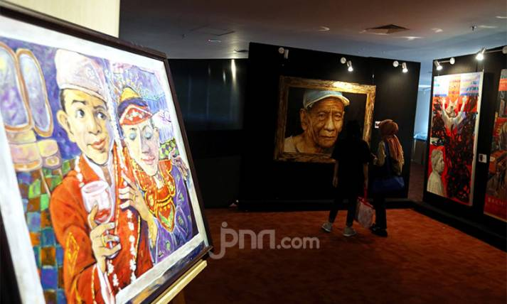 Pameran Seni Creative Freedom to Heal the Nation - JPNN.com