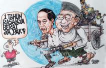 Satu Tahun Jokowi-Ma'ruf - JPNN.com