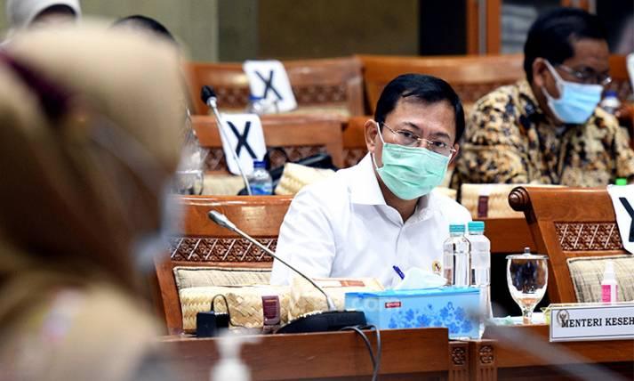 Menkes Terawan Hadiri Raker Komisi IX DPR - JPNN.com