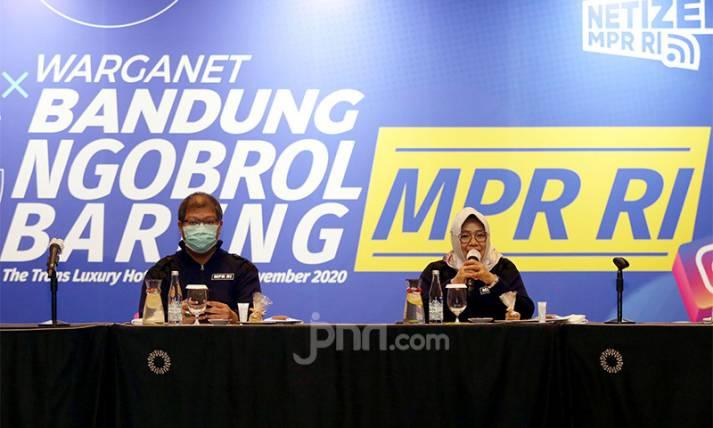 Warganet Bandung Ngobrol Bareng MPR RI - JPNN.com