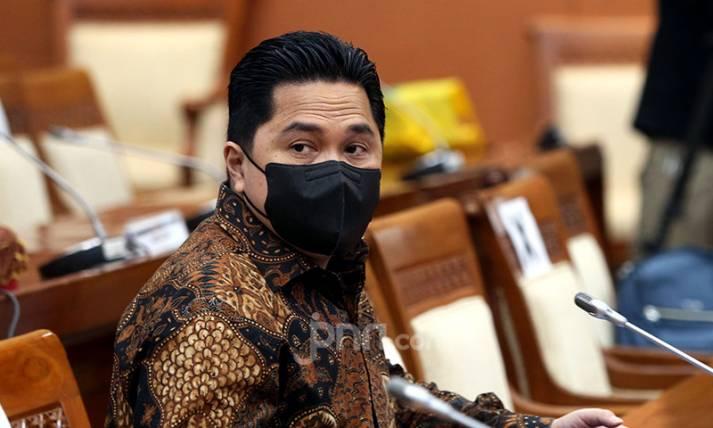 Menteri BUMN Erick Thohir Hadiri Raker Komisi VI DPR - JPNN.com