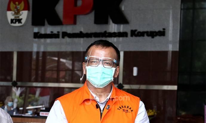 Dengan Tangan Diborgol, Edhy Prabowo Muncul di KPK Lagi