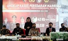 Lihat Nih, Hasil Operasi Bareskrim Sikat Jaringan Narkoba Malaysia-Batam-Medan - JPNN.com