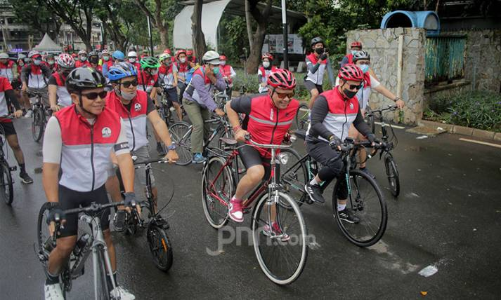 PDIP Gelar Gowes Bareng Banteng - JPNN.com
