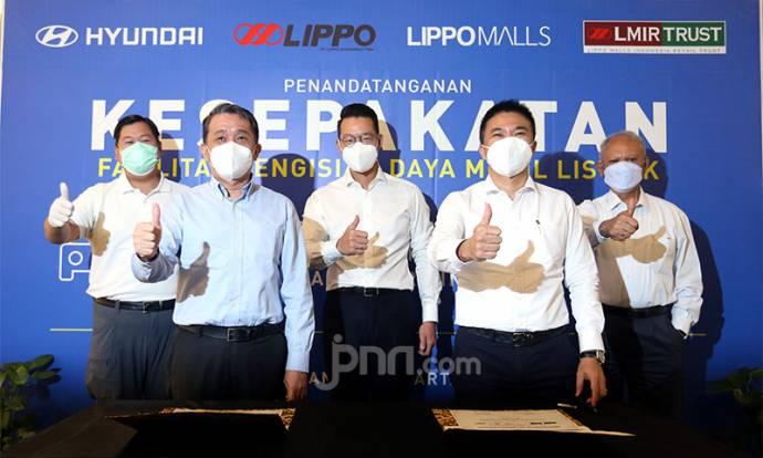 PT Lippo Karawaci Hadirkan Layanan Pengisian Baterai Mobil Listrik