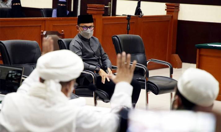Wali Kota Bogor Bima Arya Bersaksi di Perkara Habi Rizieq - JPNN.com