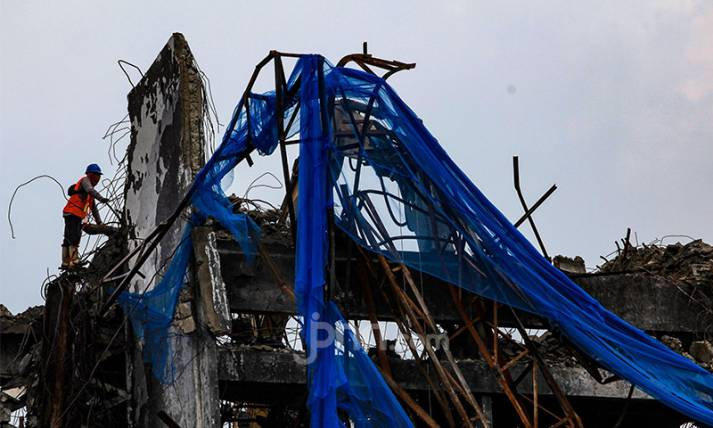 Gedung Kejaksaan Agung yang Terbakar Mulai Direnovasi - JPNN.com
