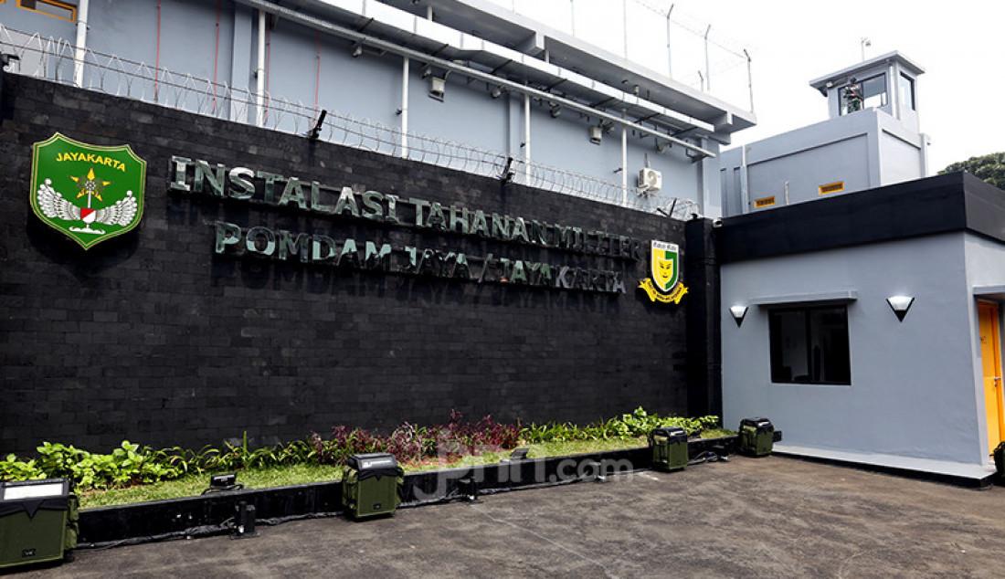 Bangunan Smart Instalasi Tahanan Militer Pertama AD di Markas Pomdam Jaya, Jakarta, Selasa (20/4). KSAD Jenderal Andika Perkasa baru saja meresmikan Smart Instalasi Tahanan Militer berbasis teknologi informasi di Markas Pomdam Jaya. Foto: Ricardo - JPNN.com