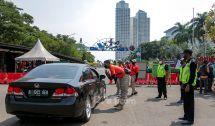 Tutup Sehari, Taman Impian Jaya Ancol Lakukan Penyemprotan Disinfektan