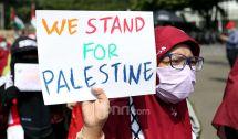 Kutuk Israel, Aliansi Pemuda Indonesia untuk Palestina Berdemo di Depan Kedubes AS