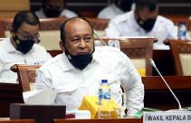 Foto Wakil Kepala BIN Hadiri Raker Komisi I DPR - JPNN.com