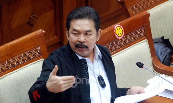 Foto: Jaksa Agung ST Burhanuddin di Komisi III DPR