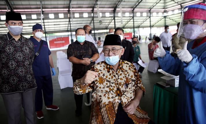 LDII Gandeng Dinas Kesehatan DKI Jakarta Gelar Vaksinasi bagi Santri - JPNN.com